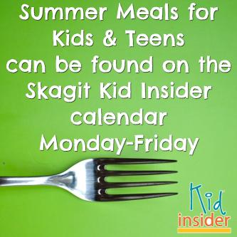 Summer Meals for Kids & Teens in Skagit County