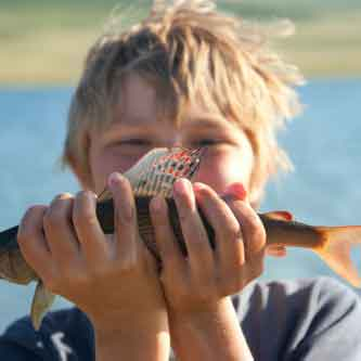 Where to Fish with Kids in Skagit County